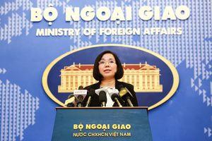 Việt Nam yêu cầu Đài Loan ngừng diễn tập bắn đạn thật ở đảo Ba Bình