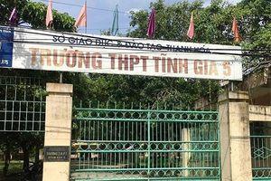 Đồng loạt giải thể 5 trường THPT đầu năm học mới tại Thanh Hóa
