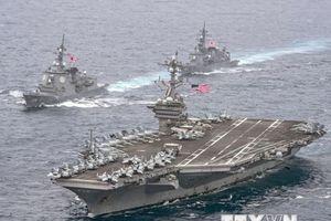 Lực lượng NATO và hải quân Nhật Bản tập trận chung ở Biển Baltic