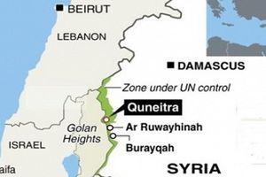Syria phát hiện thiết bị y tế của Israel ở tỉnh Quneitra