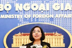 Việt Nam phản đối Đài Loan diễn tập bắn đạn thật ở Biển Đông