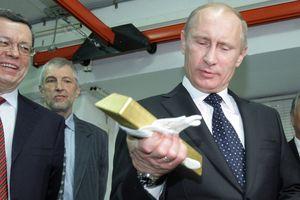 Nga mạnh tay mua vàng dự trữ