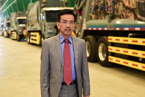 Mỹ sản xuất xe chở rác đặc chế riêng cho Việt Nam