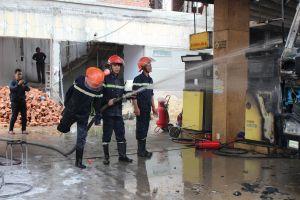 Quảng Nam: Hàn xì gây cháy cây xăng Khải Hoàng 2