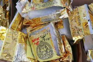 Hai mẻ lưới ma túy đá 'khủng' của cảnh sát Thái và Malaysia