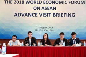 Việt Nam đón đoàn tiền trạm chuẩn bị hội nghị WEF ASEAN