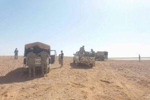 Quân đội Syria chặn đường sống IS, khủng bố thương lượng đầu hàng ở Al-Safa, Sweida