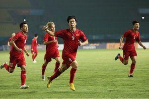 Công Phượng giúp Olympic Việt Nam làm nên lịch sử tại ASIAD