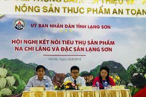 Kết nối hợp tác, mở rộng thị trường tiêu thụ cho nông sản Lạng Sơn