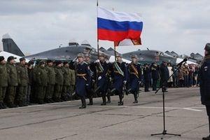 Nga công bố chi tiết thông tin điều động Quân đội giúp Syria chống khủng bố
