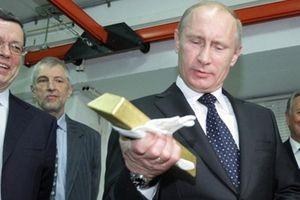 Nga 'âm thầm' trữ vàng phòng thân trước đòn trừng phạt của Mỹ