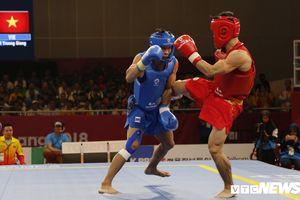 Bùi Trường Giang băng đầu gối lên sàn đấu, Việt Nam tiếp tục lỡ huy chương vàng