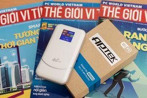 Bộ phát 4G di động APTEK M6800: dễ dùng, pin khỏe, và chẳng lo mất sóng