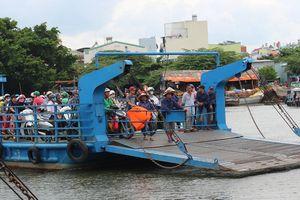 Xây cầu tạm thay phà vượt sông Vàm Thuật ở Sài Gòn