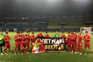 Hạ Bahrain, Olympic Việt Nam gửi lời cảm ơn Đỗ Hùng Dũng và NHM