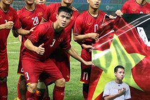 Clip ăn mừng chiến thắng 'siêu lầy' của các cầu thủ U23