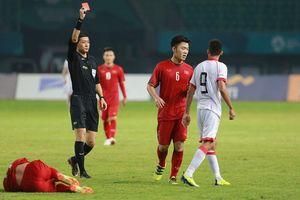 Cầu thủ Bahrain có đáng bị phạt thẻ đỏ?
