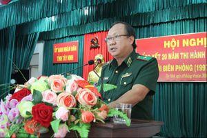 Tây Ninh: Đạt nhiều kết quả trong 20 năm thi hành Pháp lệnh BĐBP