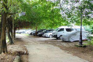 'Xẻ thịt' công viên trông giữ ôtô