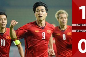 Olympic Việt Nam được thưởng bao nhiêu sau chiến thắng Bahrain?