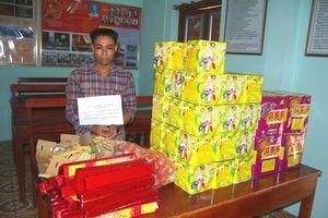 Lạng Sơn: Thu giữ hơn 600 kg pháo nổ