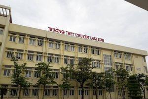 Sau phúc khảo, 3 thí sinh từ trượt thành đỗ trường THPT Chuyên Lam Sơn
