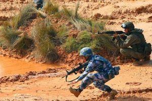 Trung Quốc gửi tinh binh sang tập trận cùng Nga