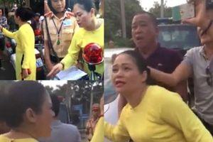 Vụ lăng mạ cảnh sát ở Bà Rịa: Người phụ nữ đến xin lỗi cảnh sát