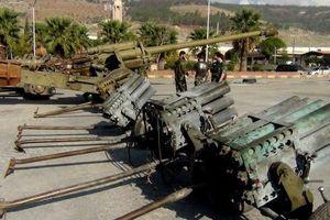Vũ khí bắt giữ tại Syria xuất hiện trong triển lãm quân sự Nga