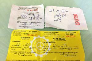 Hãng xe dùng 'giấy lộn' thay vé có dấu hiệu 'lách' thuế?