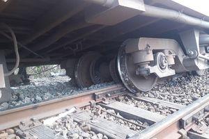 Bình Thuận: Tàu SE7 trật đường ray đã được khắc phục xong
