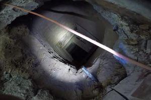 Phát hiện đường hầm vận chuyển ma túy bí mật xuyên biên giới Mỹ - Mexico