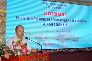 Thừa Thiên Huế phổ biến các quy định về kinh doanh khí
