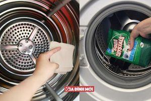 Hướng dẫn tự bảo dưỡng máy giặt mà không cần đến thợ
