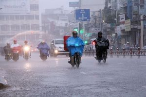 Hầu hết các vùng trong cả nước đều có mưa