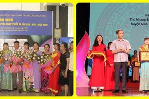 Đồng thầy Lê Thu Hà, nhà hoạt động bảo tồn và phát triển di sản văn hóa Tâm Tài đất Việt
