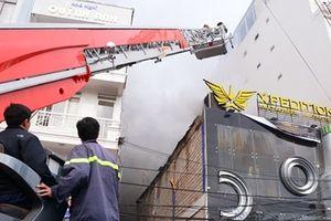 Hỏa hoạn dữ dội tại Beer Club Đà Lạt
