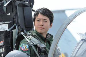 Nhật Bản bổ nhiệm nữ phi công lái máy bay chiến đấu đầu tiên