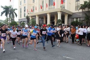 Tổng Công ty Quản lý bay Việt Nam tổ chức Giải chạy Báo Hànôịmới lần thứ 45
