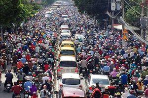 Đề xuất cấm xe máy vào trung tâm TP.HCM từ năm 2030