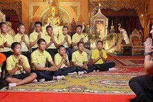 Thông tin mới nhất về đội bóng nhí từng mắc kẹt trong hang sâu 2 tuần ở Thái Lan