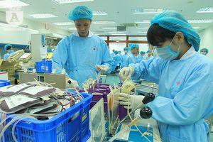 Cận cảnh nơi điều chế máu lớn nhất Việt Nam