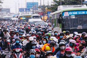 TP Hồ Chí Minh với đề án hạn chế xe máy vào trung tâm