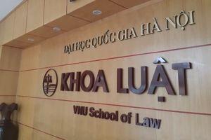 Giảng viên khoa Luật có dấu hiệu vi phạm trong ứng xử với sinh viên nữ