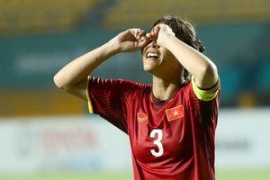 Khoảnh khắc chiến bại của tuyển nữ Việt Nam tại ASIAD 18
