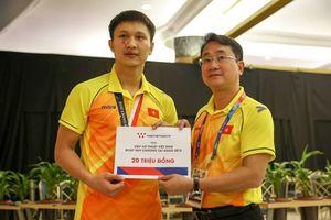 Bị rách mặt, vận động viên Karate vẫn giúp Việt Nam thêm huy chương bạc tại ASIAD 18