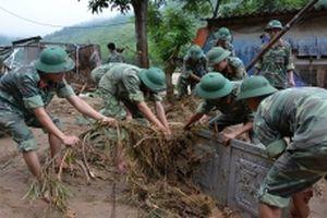Hai người chết và mất tích do lũ tại Yên Bái