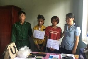 Bắt giữ hai đối tượng vận chuyển ma túy từ Lào về Việt Nam