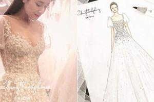 Hé lộ váy cưới Nhã Phương sẽ mặc trong đám cưới với Trường Giang