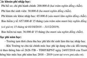 Trường ĐH Y khoa Phạm Ngọc Thạch hoãn thu học phí chờ đề án tự chủ